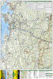 Mount Mansfield and Stowe, Map 749 by National Geographic Maps - Front of map