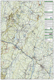 Mount Mansfield and Stowe, Map 749 by National Geographic Maps - Back of map
