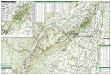 Shawangunk Mountains, TI 750 by  - Back of map