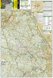 Black Hills National Forest, North, SD, Map 751 by National Geographic Maps - Front of map