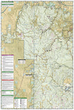 Black Hills National Forest, North, SD, Map 751 by National Geographic Maps - Back of map