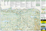 Boundary Waters Canoe Area Wilderness, East, MN, Map 752 by National Geographic Maps - Front of map