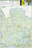 Boundary Waters Canoe Area Wilderness, West, MN, Map 753 by National Geographic Maps - Front of map
