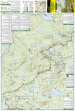 Baxter State Park & Mt. Katahdin, Maine, Map 754 by National Geographic Maps - Front of map