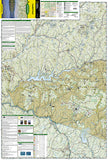 Catskill Park, New York, Map 755 by National Geographic Maps - Front of map