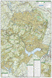 Catskill Park, New York, Map 755 by National Geographic Maps - Back of map