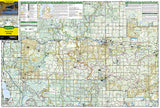 Huron National Forest, Map 757 by National Geographic Maps - Front of map