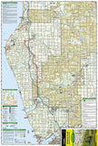Manistee National Forest, South, Map 759 by National Geographic Maps - Front of map