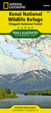 Buy map Kenai National Wildlife Refuge and Chugach National Forest, Map 760 by National Geographic Maps