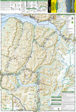 Kenai National Wildlife Refuge and Chugach National Forest, Map 760 by National Geographic Maps - Front of map