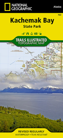 Buy map Kachemak Bay State Park, Alaska, Map 763 by National Geographic Maps