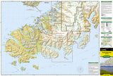 Kachemak Bay State Park, Alaska, Map 763 by National Geographic Maps - Front of map