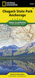 Buy map Chugach State Park and Anchorage, Alaska, Map 764 by National Geographic Maps