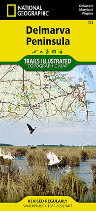 Buy map DelMarVa Peninsula, Map 772 by National Geographic Maps