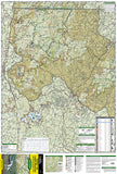 Springer and Cohutta Mountains, Map 777 by National Geographic Maps - Front of map