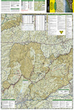 Linville Gorge, Mount Mitchell and Pisgah National Forest by National Geographic Maps - Front of map