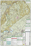 Linville Gorge, Mount Mitchell and Pisgah National Forest by National Geographic Maps - Back of map
