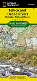Buy map Tellico and Ocoee Rivers, Map 781 by National Geographic Maps