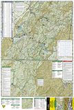 Tellico and Ocoee Rivers, Map 781 by National Geographic Maps - Front of map