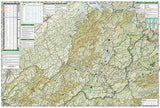 Tellico and Ocoee Rivers, Map 781 by National Geographic Maps - Back of map