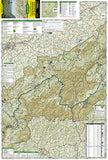 Cherokee and Pisgah National Forests by National Geographic Maps - Front of map