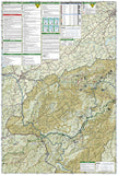 Cherokee and Pisgah National Forests by National Geographic Maps - Back of map