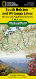 Buy map Cherokee and Pisgah Nat. Forests: South Holston and Watauga Lakes, Map 783 by National Geographic Maps
