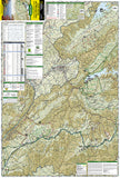 Cherokee and Pisgah Nat. Forests: South Holston and Watauga Lakes, Map 783 by National Geographic Maps - Front of map