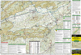 Mount Rogers National Recreation Area, Map 786 by National Geographic Maps - Front of map