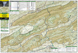 Blacksburg, New River Valley and Jefferson National Forest by National Geographic Maps - Front of map
