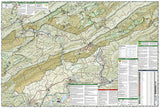 Blacksburg, New River Valley and Jefferson National Forest by National Geographic Maps - Back of map