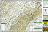 Lexington and Blue Ridge, Virginia by National Geographic Maps - Front of map
