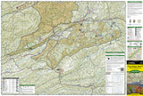 Clinch Ranger District and Jefferson National Forest by National Geographic Maps - Front of map