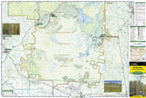 Okefenokee National Wildlife Refuge, Map 795 by National Geographic Maps - Front of map