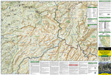 Carson-Iceberg, Emigrant and Mokelumne Wilderness Areas, Map 807 by National Geographic Maps - Front of map