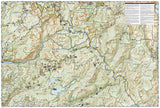 Carson-Iceberg, Emigrant and Mokelumne Wilderness Areas, Map 807 by National Geographic Maps - Back of map