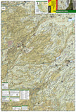 Stanislaus National Forest, Map 808 by National Geographic Maps - Front of map