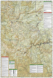 Stanislaus National Forest, Map 808 by National Geographic Maps - Back of map