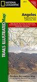 Buy map Angeles National Forest, California, Map 811 by National Geographic Maps