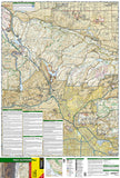 Angeles National Forest, California, Map 811 by National Geographic Maps - Front of map