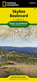 Buy map Skyline Boulevard Parks and Preserves, Map 815 by National Geographic Maps