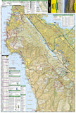 Skyline Boulevard Parks and Preserves, Map 815 by National Geographic Maps - Front of map