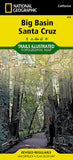 Buy map Big Basin and Santa Cruz, Map 816 by National Geographic Maps