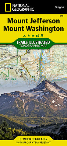 Buy map Mt. Jefferson and Mt. Washington Wilderness, Map 819 by National Geographic Maps