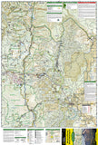 Mt. Jefferson and Mt. Washington Wilderness, Map 819 by National Geographic Maps - Front of map