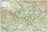 Mount Hood and Willamette National Forests, Map 820 by National Geographic Maps - Back of map