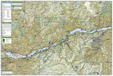 Columbia River Gorge National Scenic Area, Map 821 by National Geographic Maps - Back of map