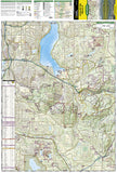 Issaquah Alps/Mount Si, WA, Map 824 by National Geographic Maps - Front of map