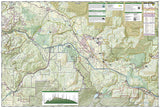 Issaquah Alps/Mount Si, WA, Map 824 by National Geographic Maps - Back of map