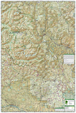 Alpine Lakes Wilderness, Washington, Map 825 by National Geographic Maps - Back of map